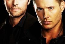 Supernatural — Destiel / Supernatural — Jensen Ackles as Dean Winchester and Misha Collins as Castiel – Destiel