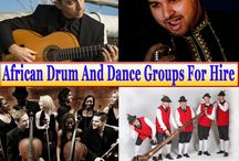African Drum And Dance Groups For Hire