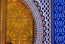 Μαρόκο style πόρτα