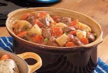 Winter Stews / Healthy veg and meat stews