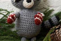 Amigurumi / Lovely crocheted animals