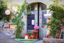 """Boutique et Salon de Thé """"Les P'tits POIS Sont Rouges"""" / http://www.lesptitspoissontrouges.fr/"""