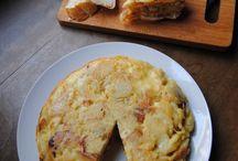 Cuisine - Omelette espagnole