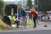 Cycling Hill Climb 5th October 2014 / Time trial for cyclist up the Shelsley Walsh Hill Climb
