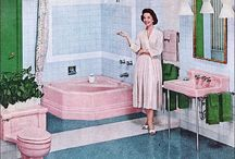 Vintage Kitchens and Bathrooms / by Laura Cavazza