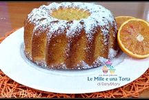 Torta arancia e ricotta