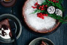 Christmas cake / Food