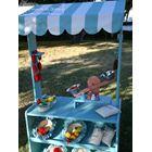 Tiendas infantiles vintage. Tiendas de juguete. / Tiendas de madera infantiles personalizables en colores y tejidos. T
