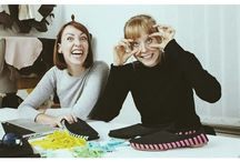 PIKKPACK STUDIO LIFE / it's all in a day's work for Pikkpack Team: Hanna, Sara and Andras