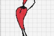 Cross stitch - women