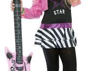 Disfraz de rockera