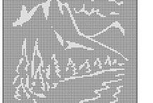 landscape  in shilouette