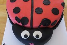 ladybug cake.ideas / by andrea m