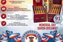 Memorial Day BARON GIVEAWAY