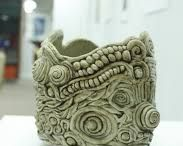 Textured Ceramic Vessels