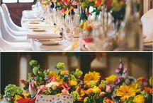 Bright & Bold Wedding