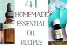essential oil receipes