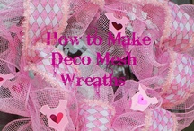 deco wreaths / by Pam Rothenbuhler