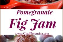 I LOVE FIGS - RECIPES / Recipes using fresh or dried figs