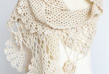 croshet scarfs
