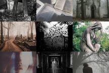 Mis Fanarts / Fan arts creados por mí, inspirados en libros que he leído.