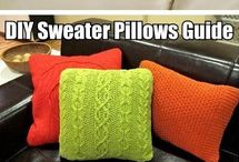 sweater crafts / by Barb Ward