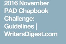 2016 November's Writing Challenges