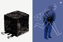 ilustración / by Rubén Chumillas
