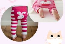 Toddler winter knit leggings / Toddler cotton knit leggings. Very versatile, flexible and air permeable. I found these leggings are good matches on most dresses and tops