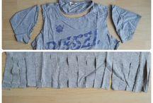 Wäschebeutel aus Tshirt
