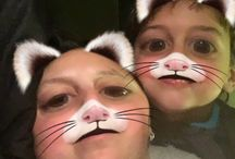 Snapchat / Funny pics of me and master 8