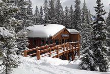 Ski huts