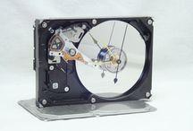 Hard Disk Clocks