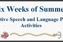 Summertime Speech / Summer themed activities for Extended School Year or the private practice SLP