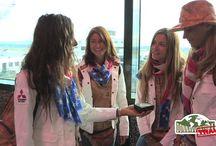 VIDEOMEDIASET: IL NUOVO TEAM E' PARTITO PER L'AMERICA / Le ragazze del team 2013 sono pronte a partire: destinazione New York!