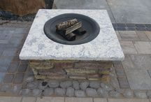 Fire Features / Outdoor Living fire pits and features