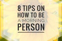 Happy Mornings!