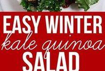 Salade kale et quinoa