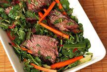 Salads? Ok, Meat Salads!