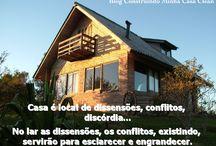 Casa ou Lar? / Veja + Inspirações e Dicas de decoração no blog!  www.construindominhacasaclean.com