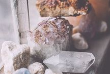 Crystals and Stones.