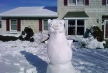 Snow Creatures / Sample of some of the snow-creatures I did with my little step brother and sister a couple years back.