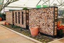 uskladnění dřeva