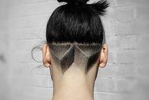 vlasy na leto / every single undercut that caught my eye