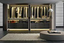 Armadi e cabine armadio - Wardrobe / Può essere definito come uno degli elementi più versatili della casa, che si colloca in ogni zona, i cui colori, materiali e le diverse tipologie trasformano e stravolgono lo stile di una stanza. http://tinyurl.com/oq5pdg9