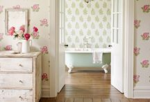 The papered room