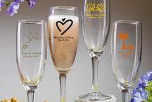 Custom Glassware - Personalize Glassware Favors