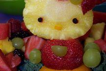 Sjov med frugt