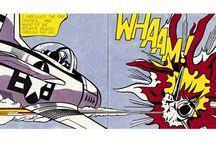 Y9 Pop Art  - Roy Lichtenstein / Images to help with your homework