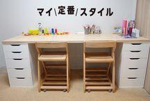子供部屋、書斎